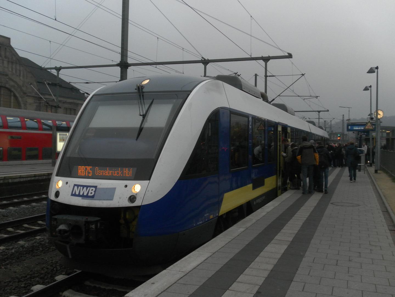 Nordwestbahn Lint im Hauptbahnhof Bielefeld