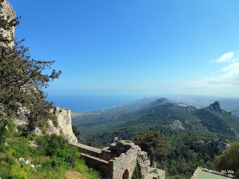 -Nordzypern Burg Ruine  Kantara-