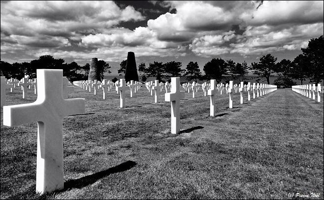 Normandie – Cimetière américain