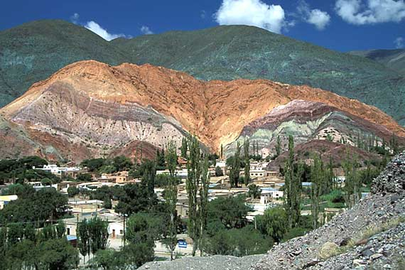Noroeste Argentino - Purmamarca - Cerro de los Siete Colores -