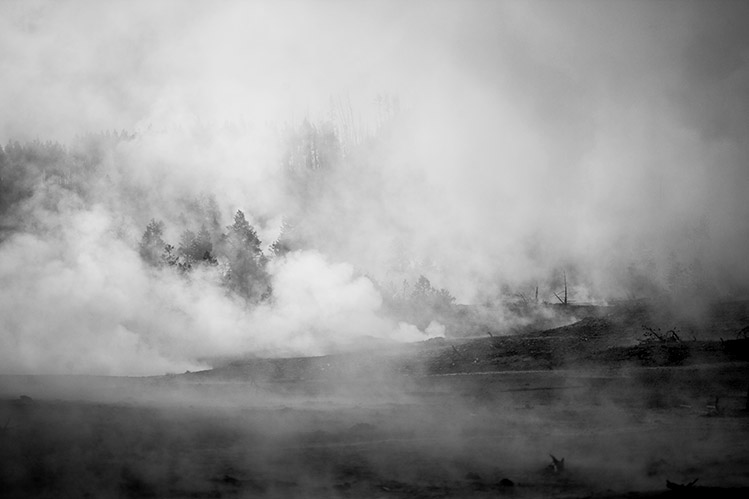 Norris Basin at Yellowstone No 5