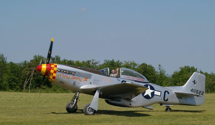 North American P-51 Mustang - Ferté Allais 2010