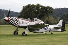North American P 51D