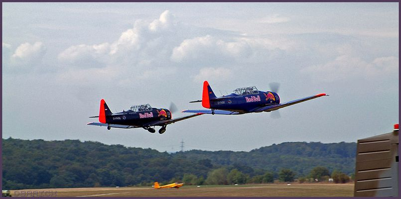 North American T6 Formation (Familie Eichhorn)