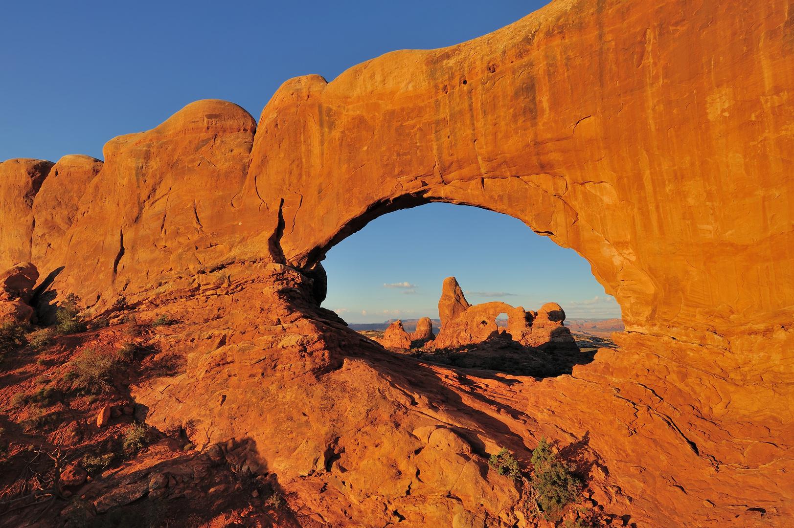 *North Window & Turret Arch*