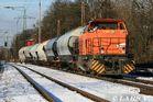 Northrail G1206 fährt mit Sodazug in Ratingen-Lintorf richtung Düsseldorf-Rath