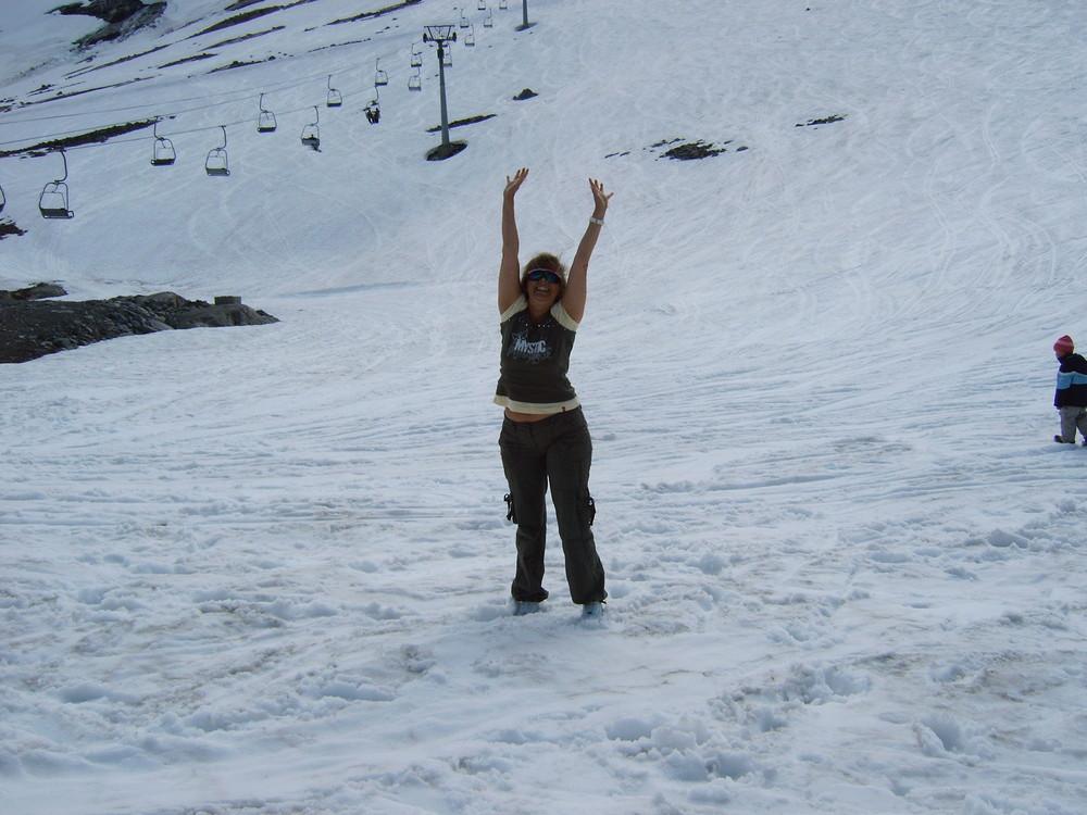 Norway im Schnee