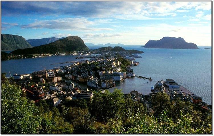 Norwegen - Alesund