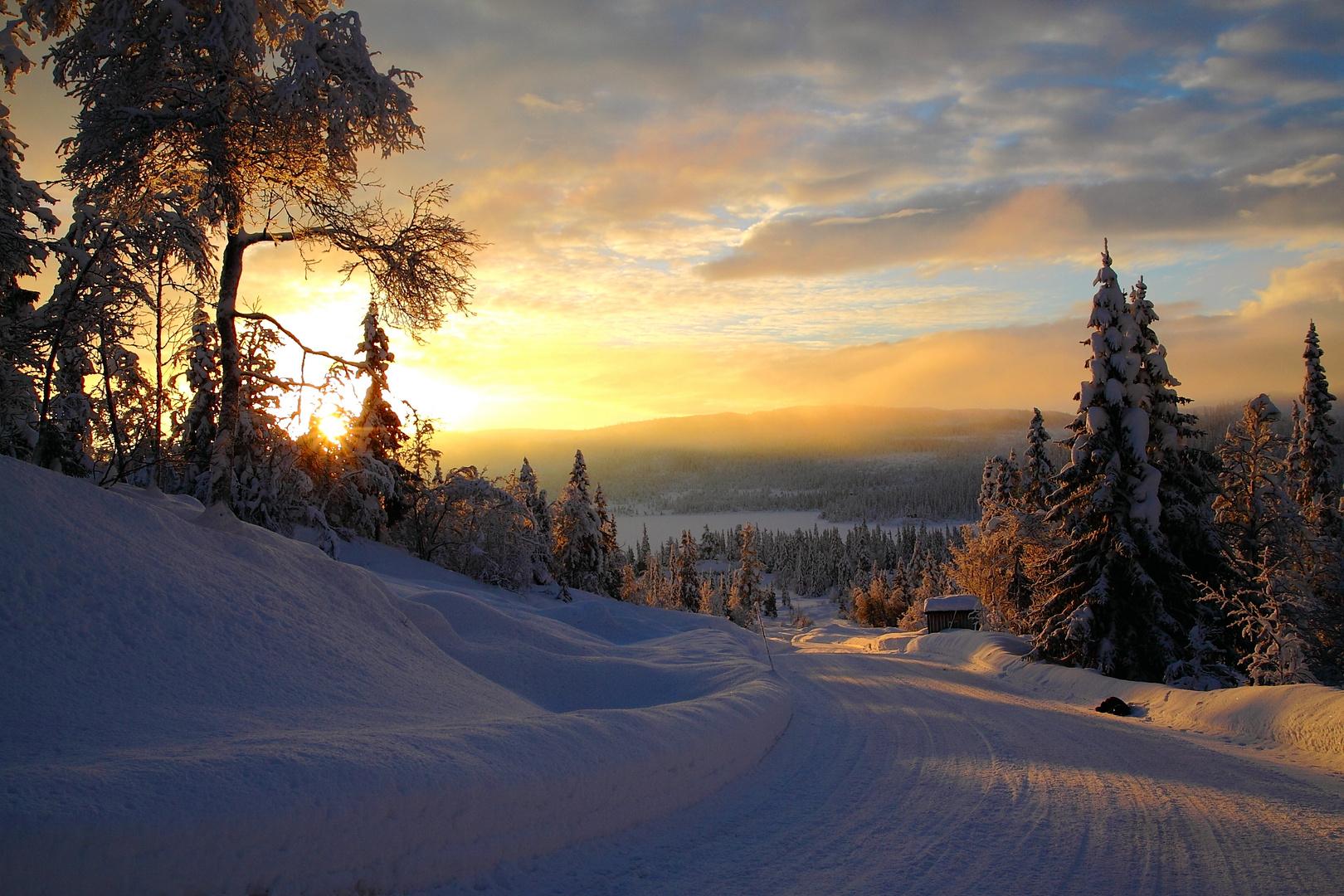 Norwegen im Dezember