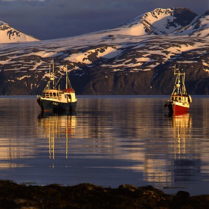 Norwegen-Insel Arnöy