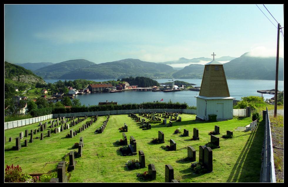 Norwegen - letzte Ruhe mit Fjordblick