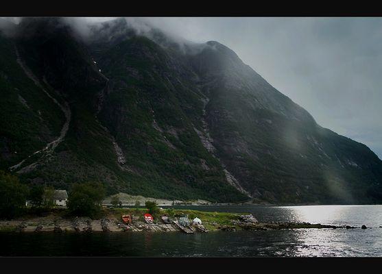 Norwegen - Licht.