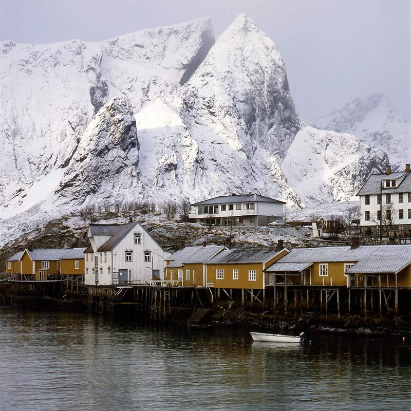 Norwegen-Lofoten im Winter