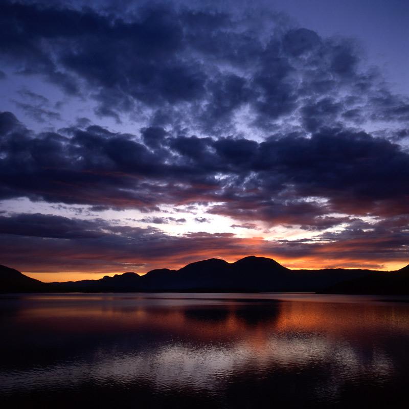 Norwegen- Nisser See