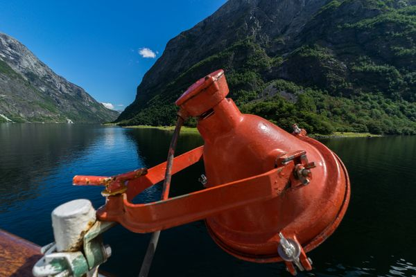 Norwegen Nærøfjord
