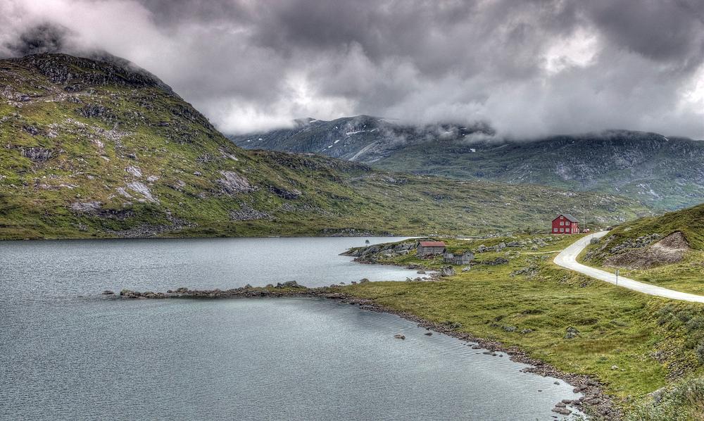 Norwegen - Nystølsvatnet