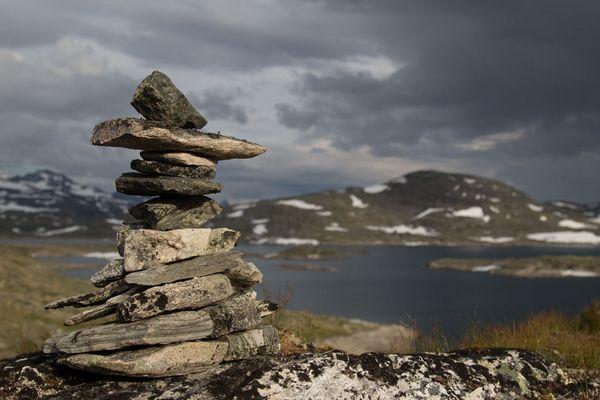 Norwegen Steinmännchen