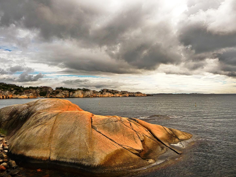 Norwegen .....Strand bei Larvig