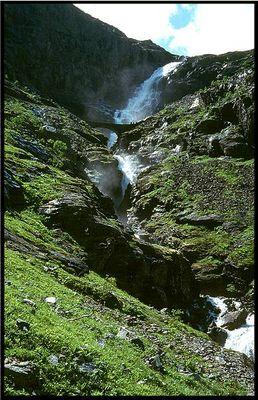 Norwegen - Trollstiegen Wasserfall