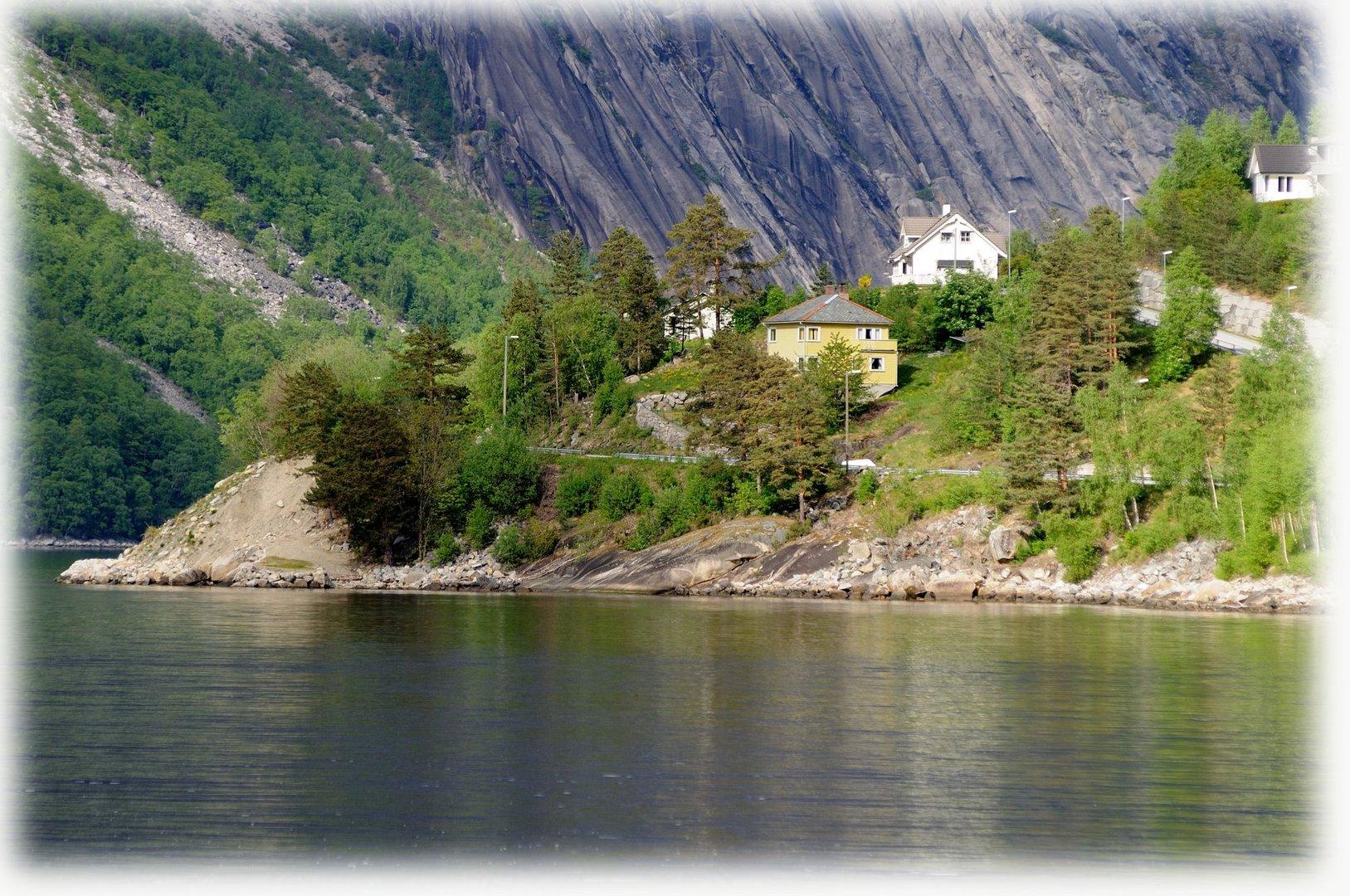 Norwegen Ulvik , Hardangerfjord