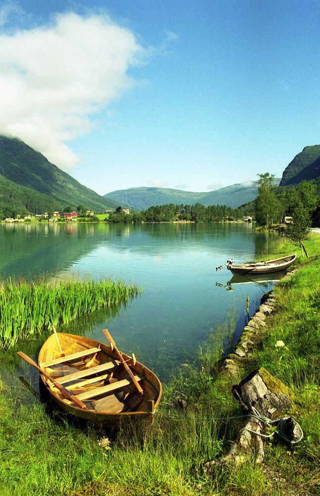 Norwegen: Unterer Oldevatnet