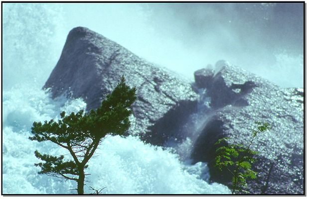 Norwegen - Wasserfall