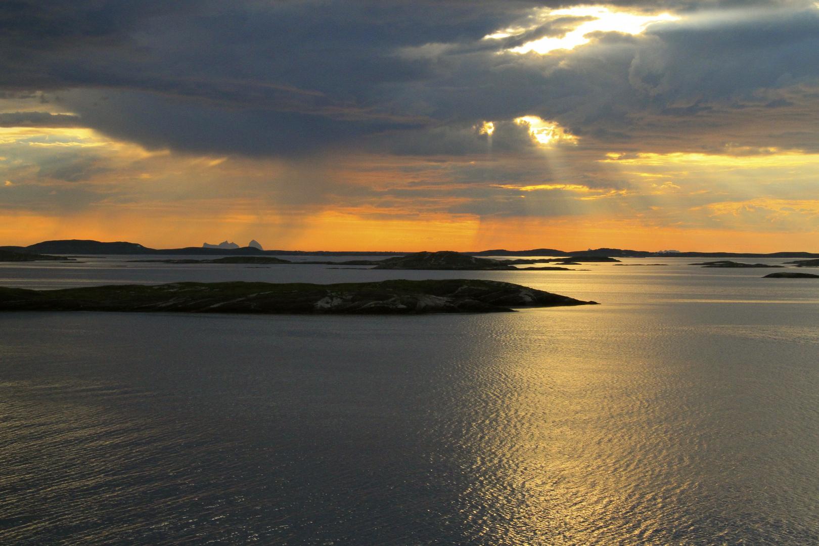 Norwegens Küste, Juli 2013
