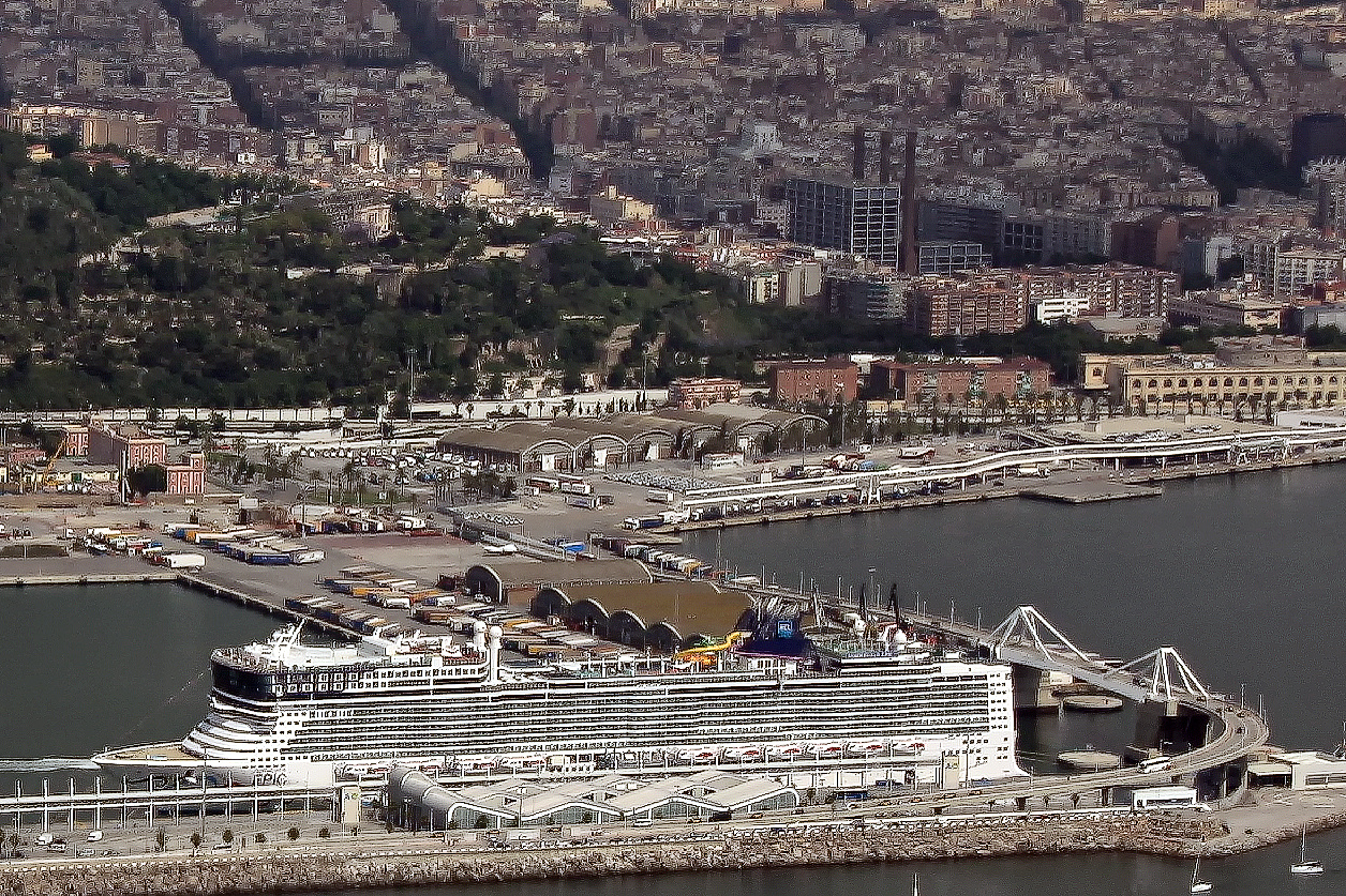 Norwegian Epic at Port of Barcelona