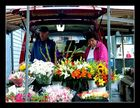 Norwegische Buden - Blumenstand