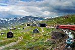 Norwegische Eisenbahn - Passüberfahrt der Bergenbahn