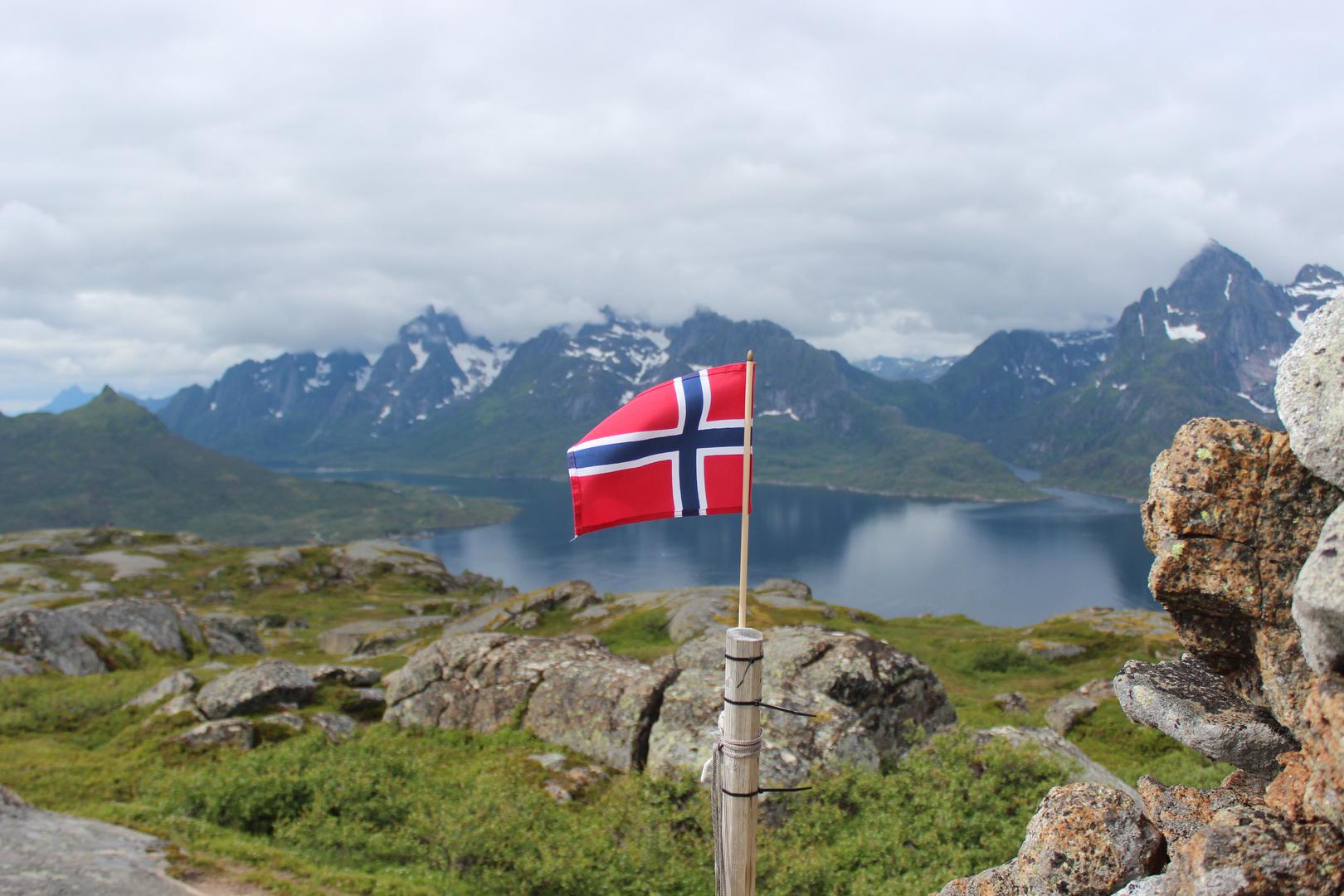 Norwegische Flage