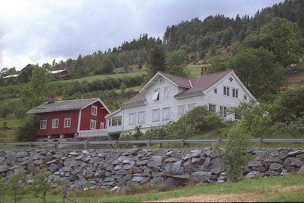 Norwegische Häuser