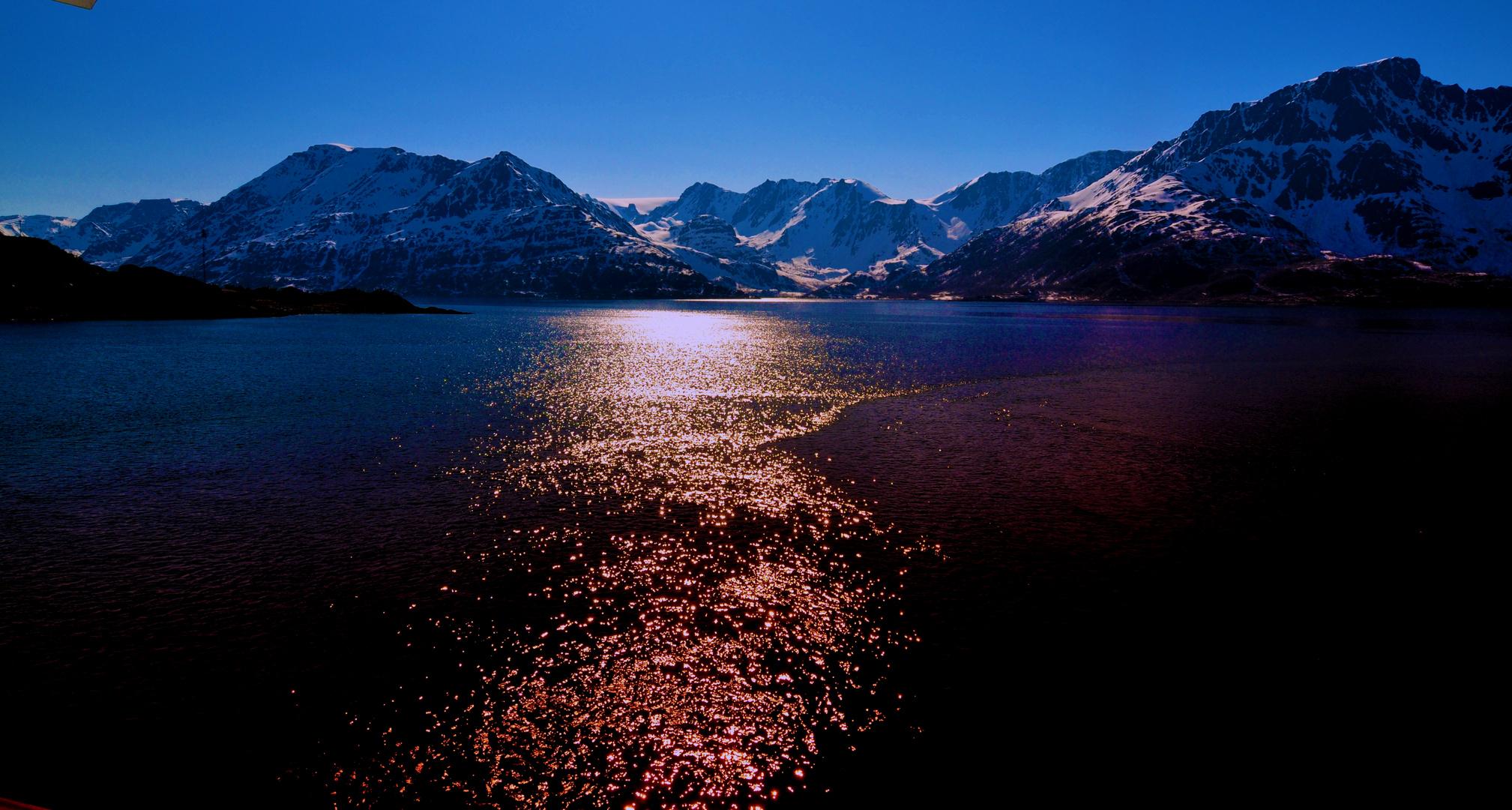 Norwegische Naturschönheit,einFjord