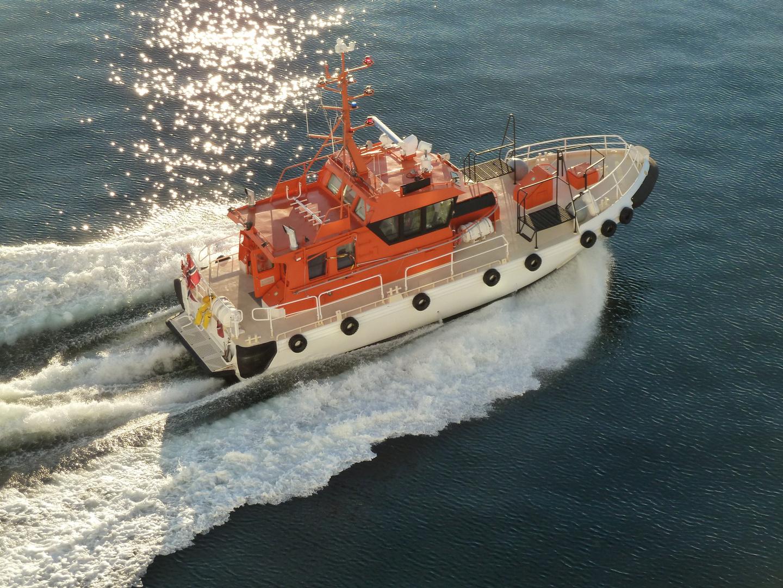 Norwegisches Lotsenboot