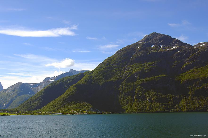 Norweische Fijordlandschaft