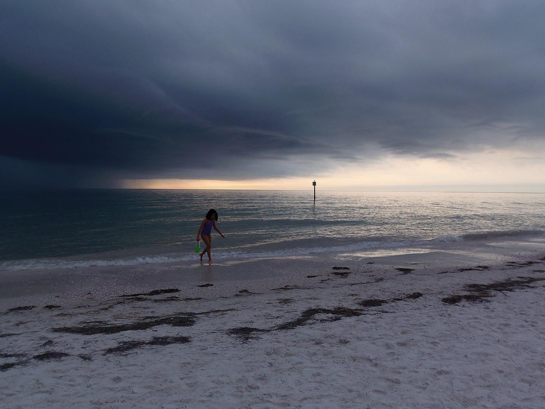 Nos alcanzo la tormenta
