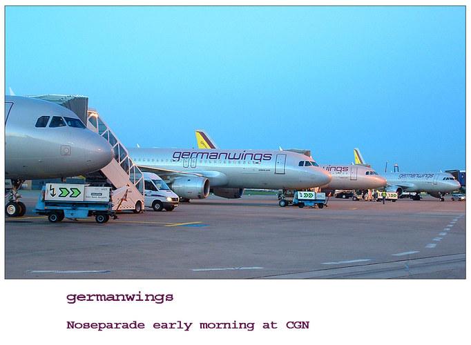 Noseparade // germanwings series