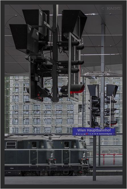 Nostalgie am Hauptbahnhof