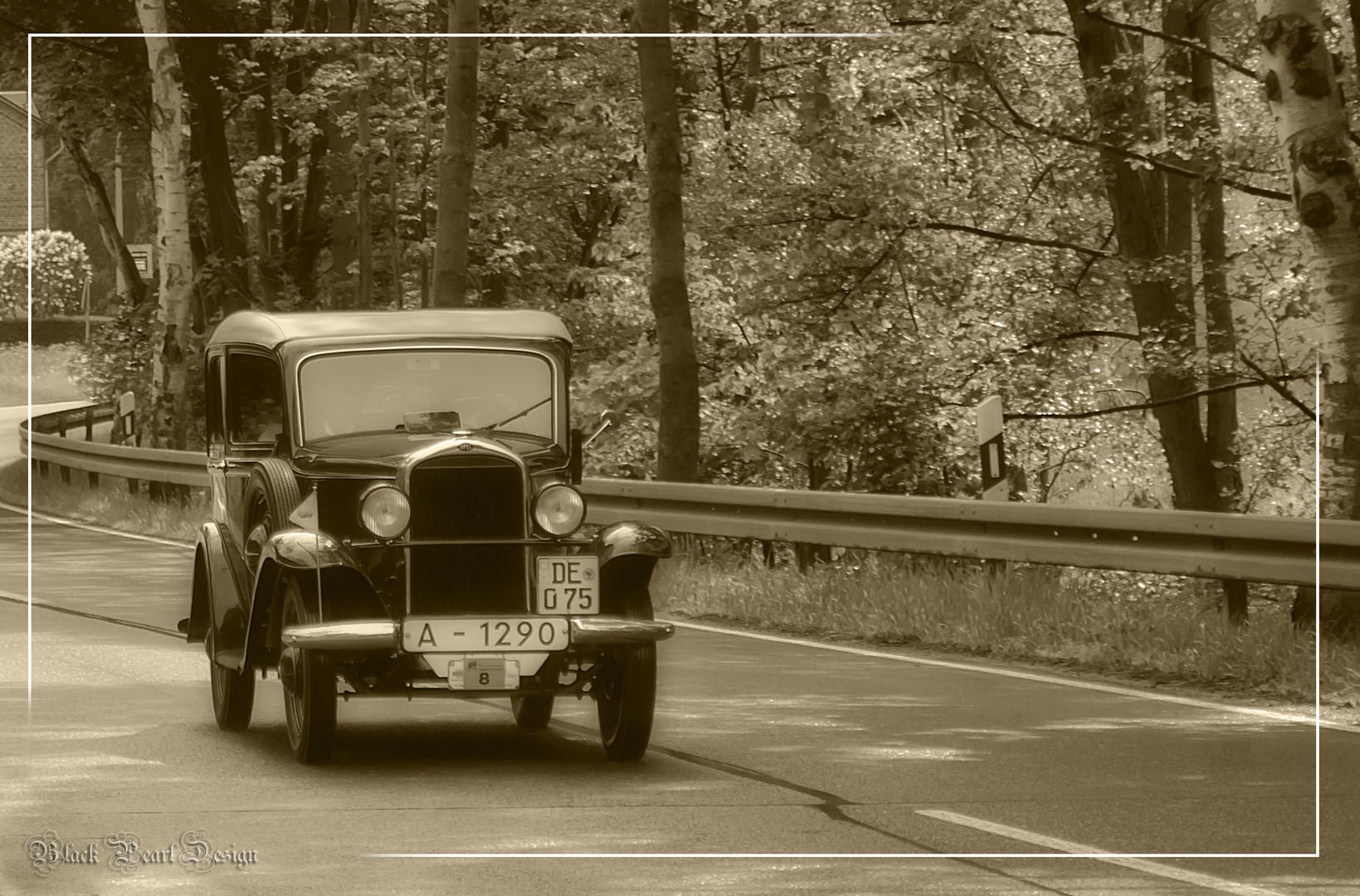 Nostalgie auf Rädern