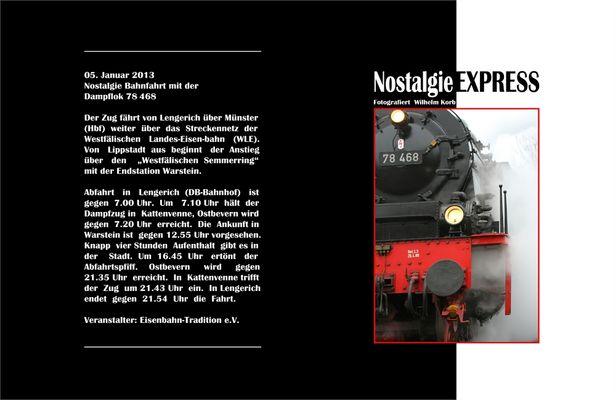 Nostalgie Bahnfahrt #1