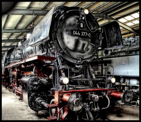 Nostalgie Dampflock / Locomotive à vapeur nostalgie