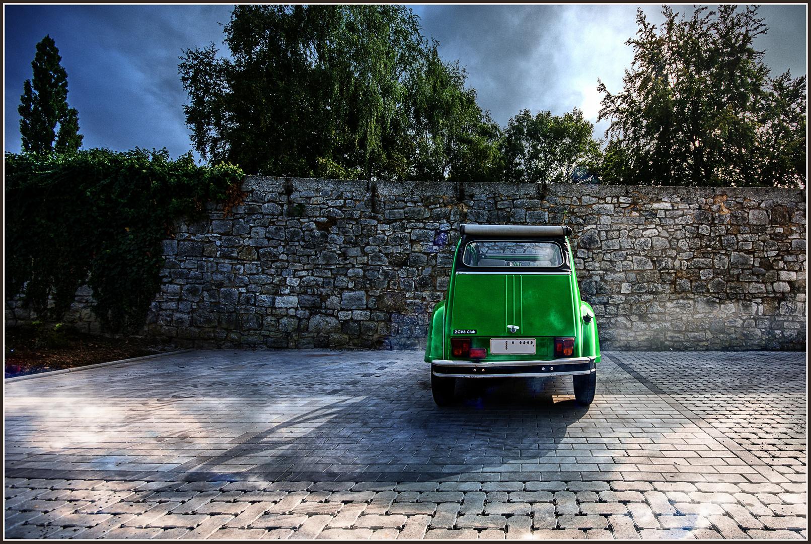 Nostalgie in grün ..