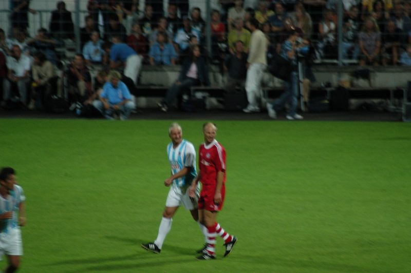 Nostalgiederby FCB - 1860 30.7.