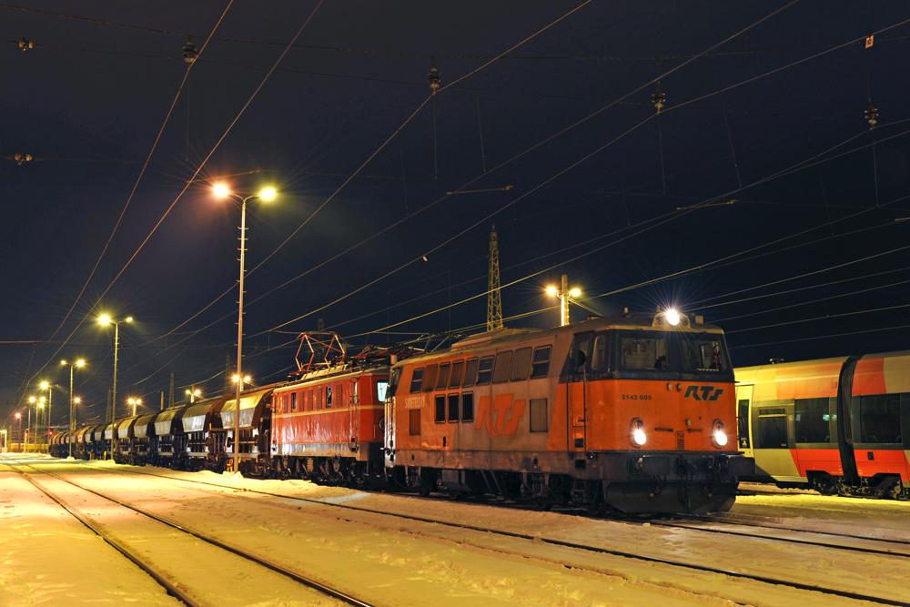 Nostalgielok im RTS Verkehr.