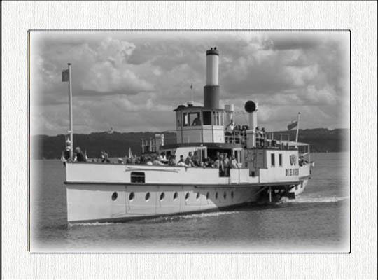 Nostalgische Dampferfahrt