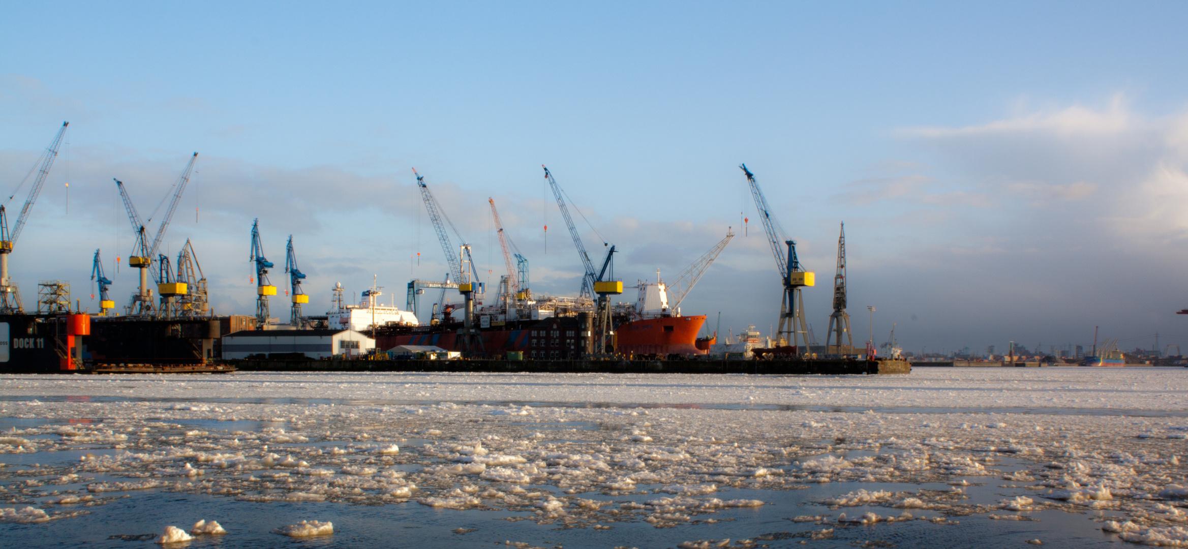 Nostalgischer Hafen