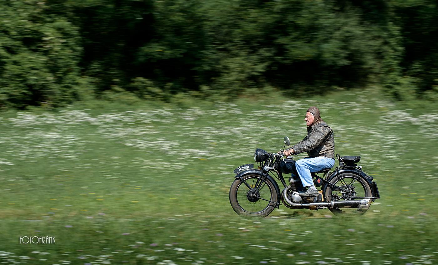 nostalgischer Motorradausflug