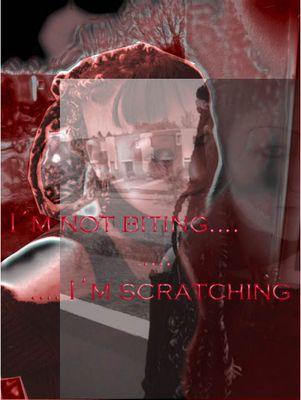 Not biting.. Scratching