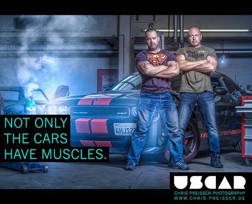 Not only the Cars have Muscles