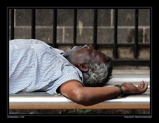 Not Waiting For Passengers, Chennai Railway Station, Chennai, Tamil Nadu / IN